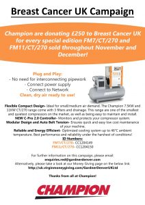 Champion breast cancer UK campaign
